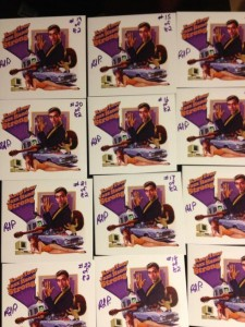 Signed copies of the CD