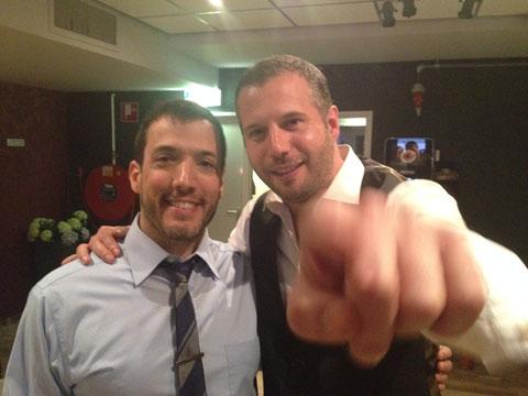 Rob Paravonian and Tijl Beckand