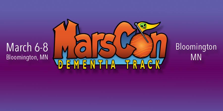 MarsCon Dementia Track Banner