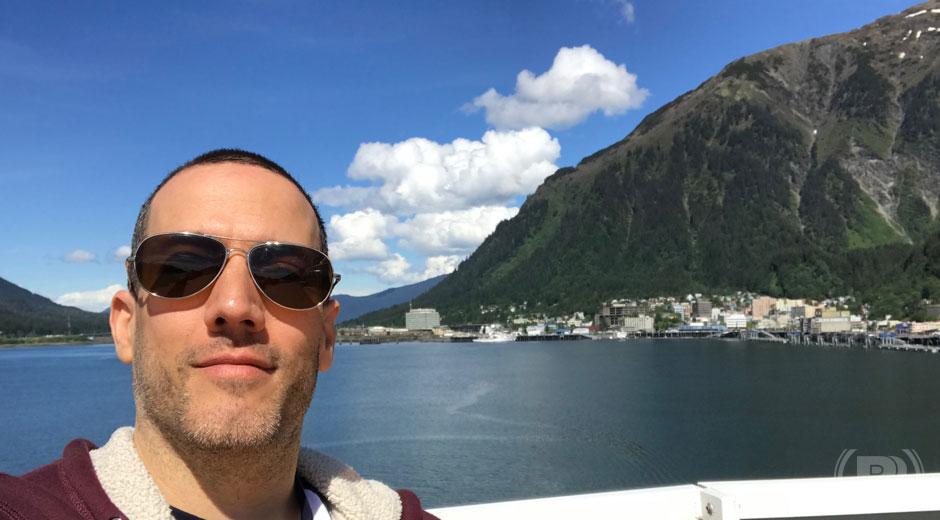 Juneau selfie