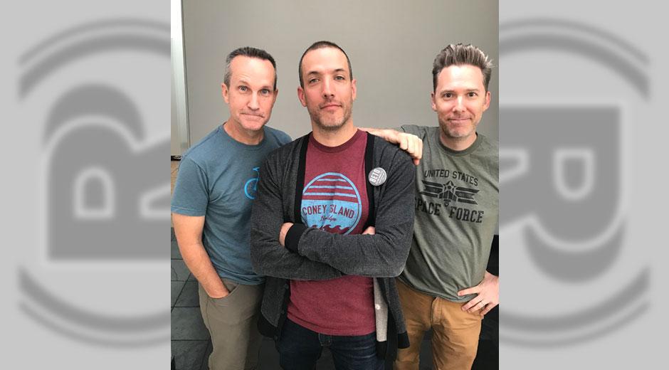 with Jimmy Pardo and Matt Belknap of Never Not Funny