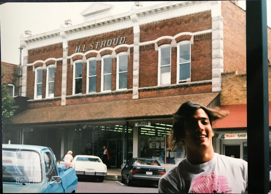 Downtown Rogers, AR, May 1990