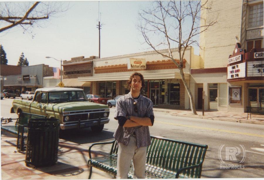 Rob in Orange, CA circa 1998