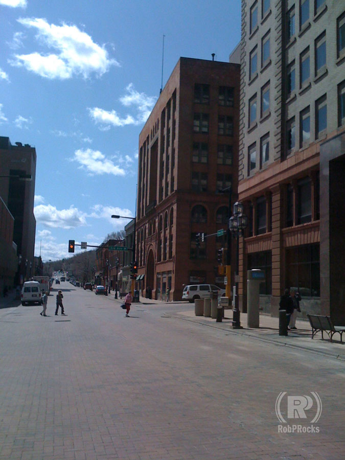 downtown Duluth MN