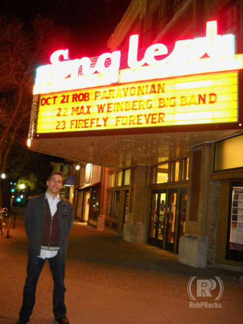 Me & the Marquee of theater