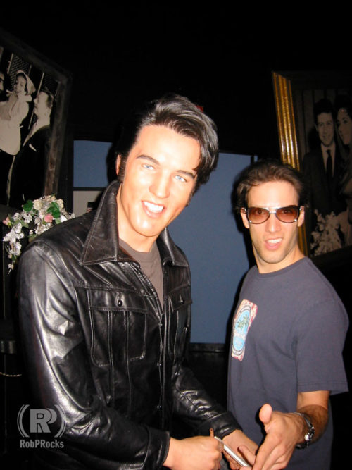 Rob and Wax Elvis