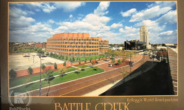 Battle Creek Postcard