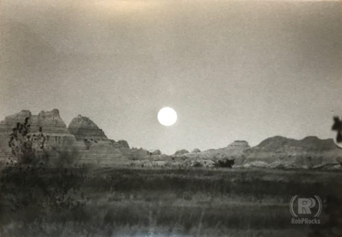 Full Moon in Badlands, 1995