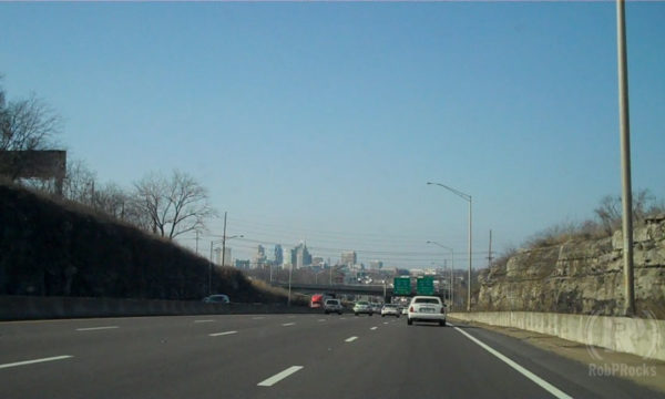 Highway approaching Nashville