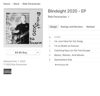 Screen cap of Blindsight 2020 on Apple Music